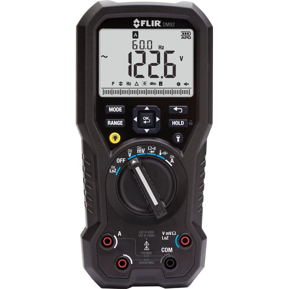 Industrial Digital Multimeter with LoZ and VFD Mode